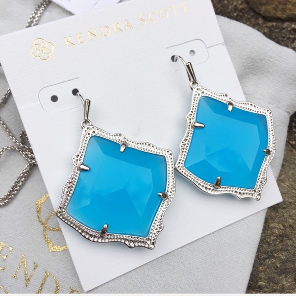 Kendra Scott Jewelry - ❤️SALE ❤️Kendra Scott Kirsten Silver Drop Earrings